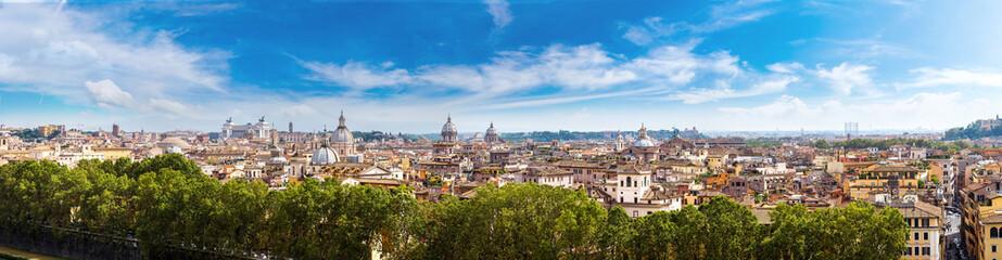 Wall Mural - Panoramic view of Rome