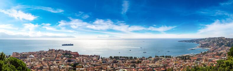 Fotobehang Napels Naples in Italy