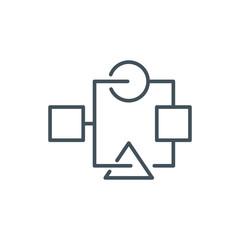 Organization, data sheet icon