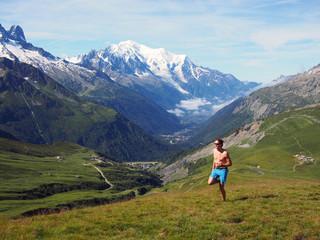 Trailrunning in Chamonix France