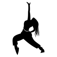 Dance simple icon