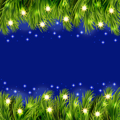 Vector christmas greeting background