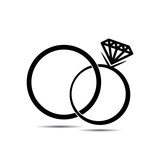 doodle wedding ring Stock image and royaltyfree vector files on