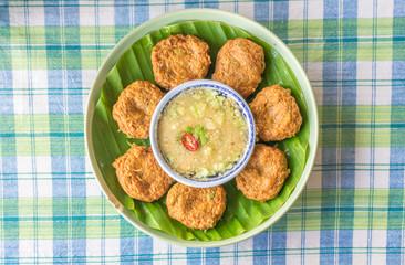 Fish Cake (Tod Mun), Thai food