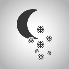 A moon icon