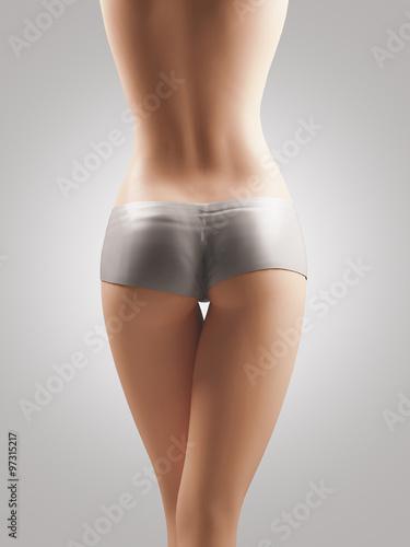 35d73481d9 Sedere donna gambe slip culotte