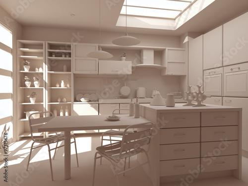 cucina bianca nuova arredo