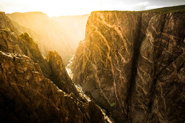 Printed roller blinds Canyon Black Canyon of the Gunnison National Park