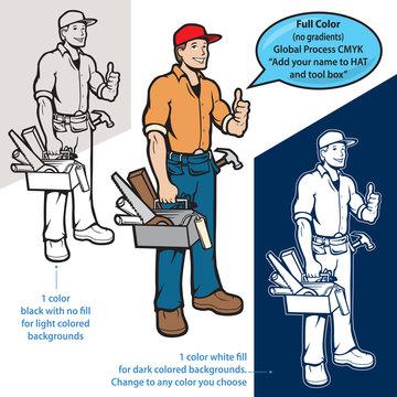 vector handyman