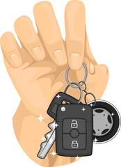 Hand Keys Wheels