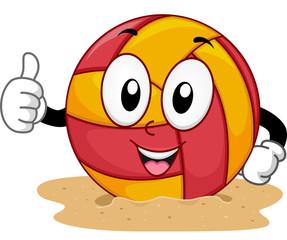 Mascot Beach Volleyball