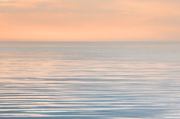 Tranquility on the sea