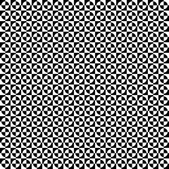 Repeatable checkered pattern with alternating circle shapes.