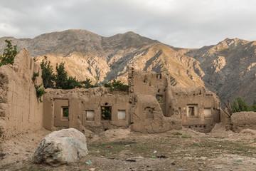 ruine hindukusch - afghanistan
