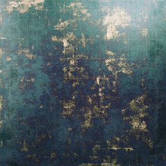 Old abstract grunge background, aged retro texture. With different color patterns: brown; blue; black; green