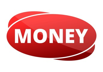 Money red sign