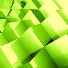 3D business illustration. Vector background.