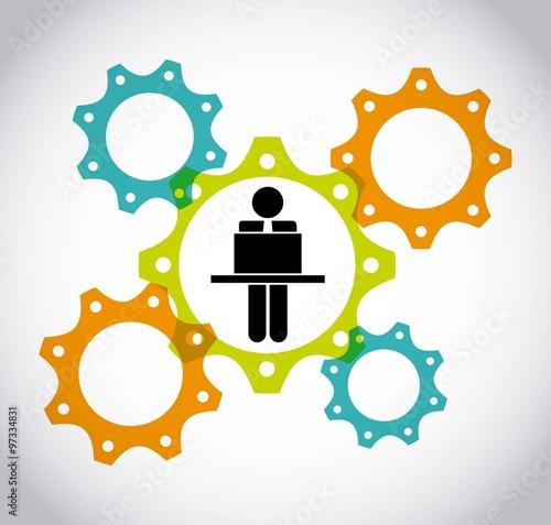 """A Collaborative Design Group: """"collaborative Teamwork Design """" Immagini E Vettoriali"""