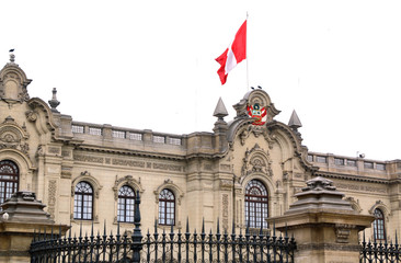 Lima, Peru: Government Palace , Residence of the President