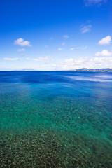 沖縄の海・真栄田岬からの眺め