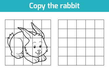 Copy the picture: rabbit