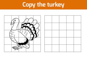 Copy the picture: turkey