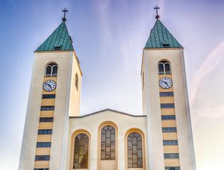 Saint James Church in Medjugorje