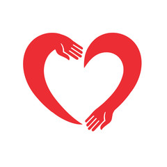 Heart from hands