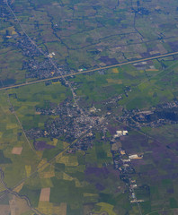 Aerial image of city