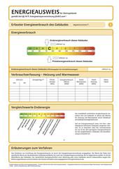 Energieausweis Blanko Seite 3