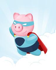 Flying Pig Hero