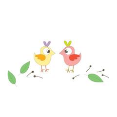 Little couple birds