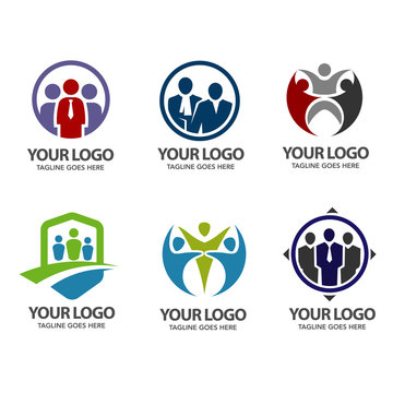 elegant People community logo set