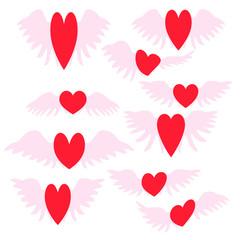 background Wallpaper design abstract illustration Heart tattoo