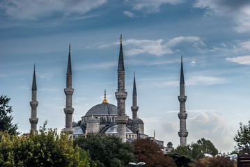 The Blue Mosque or The Sultan Ahmed Mosque (Turkish: Sultanahmet Camii) is a historical mosque in Istanbul, the largest city in Turkey and the capital of the Ottoman Empire.