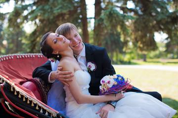 wedding. bride and groom