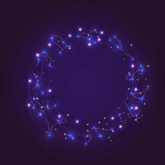 Zodiac constellations frame