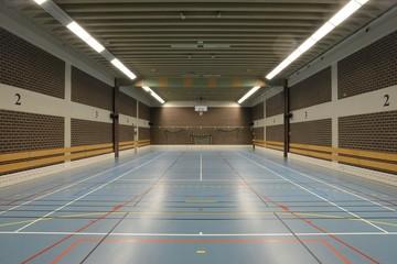 Gym hall.
