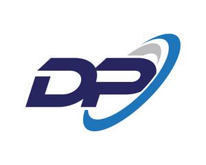 DP Swoosh Letter Logo