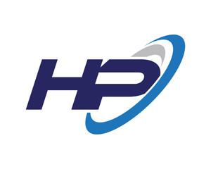 HP Swoosh Letter Logo
