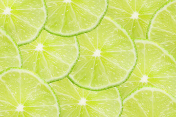 Lime slices texture.