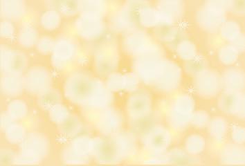 Soft orange background with bokeh