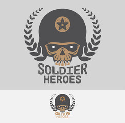 Soldier heroes club and logo