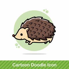 animal Hedgehog doodle