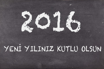 happy new year in turkish, 2016