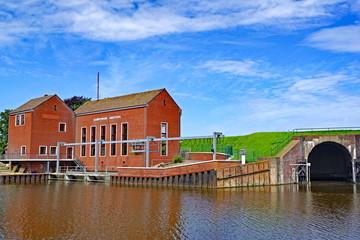 Schöpfwerk in GREETSIEL ( Ostfriesland )