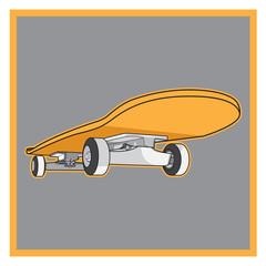 skateboard vector 02