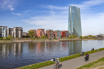 Frankfurt am Main Sommertag