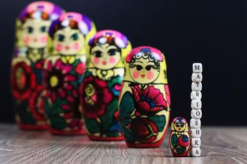 matryoshka different patterns