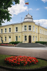 City Hall in Druskininkai. Lithuania